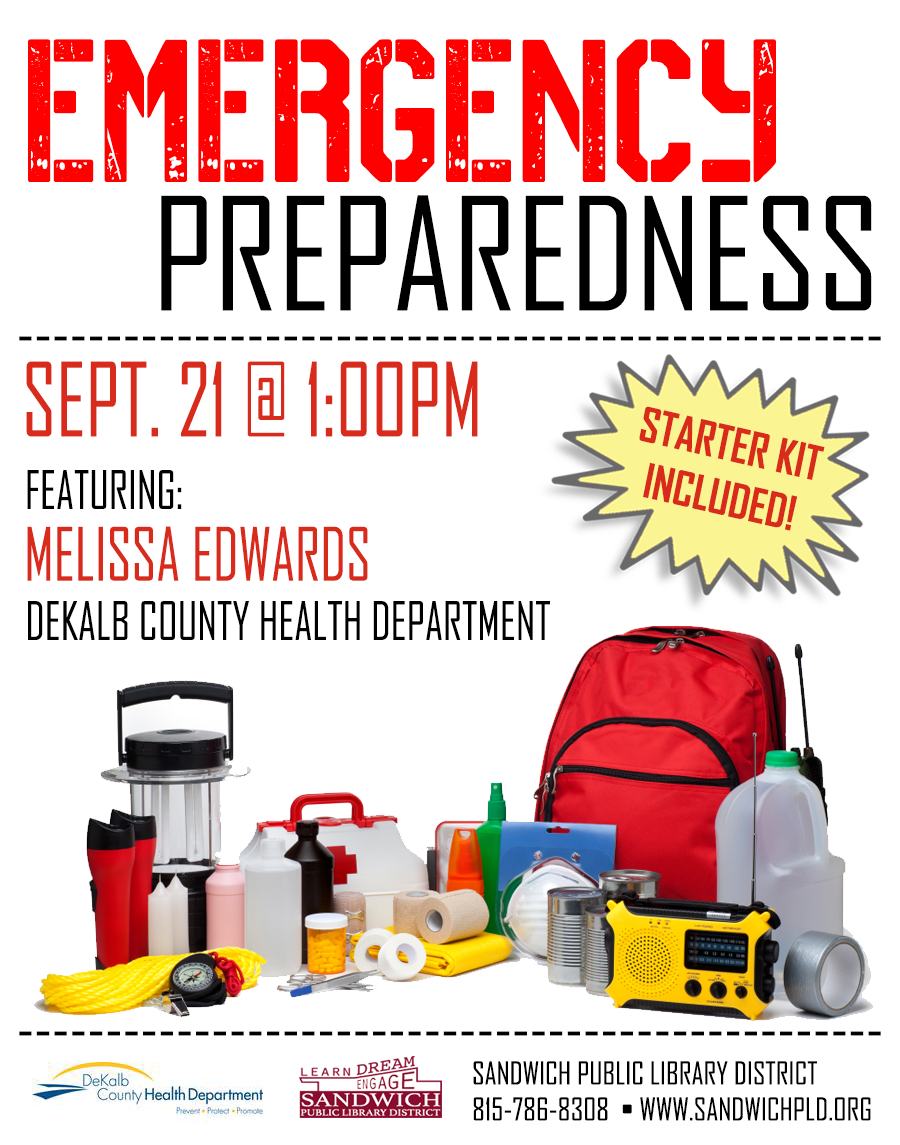 Emergency Preparedness All Ages